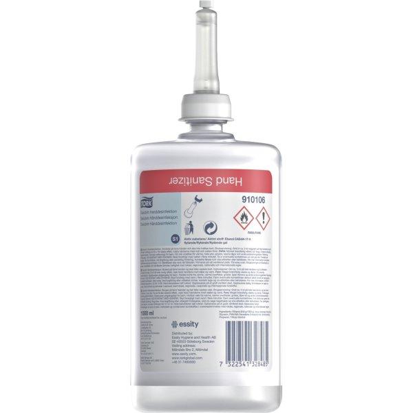 Tork S1 Premium Hånddesinfek. 80% | Gel | 1 L