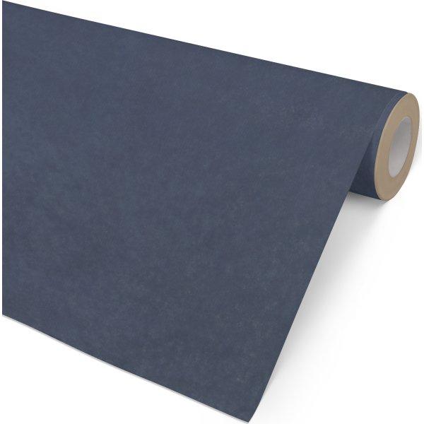 Gavepapir Kraft Ensfarvet Blå, 57 cm x 154 m