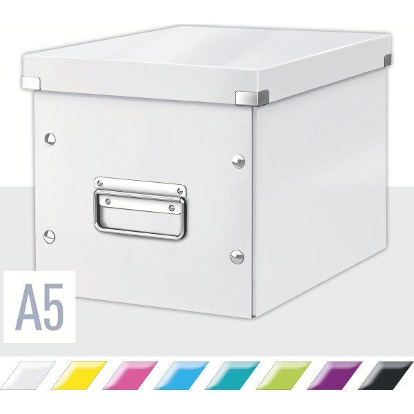 Leitz Click & Store Opbevaringsboks medium, hvid