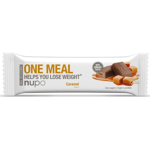Nupo Meal bar karamel, 60 g