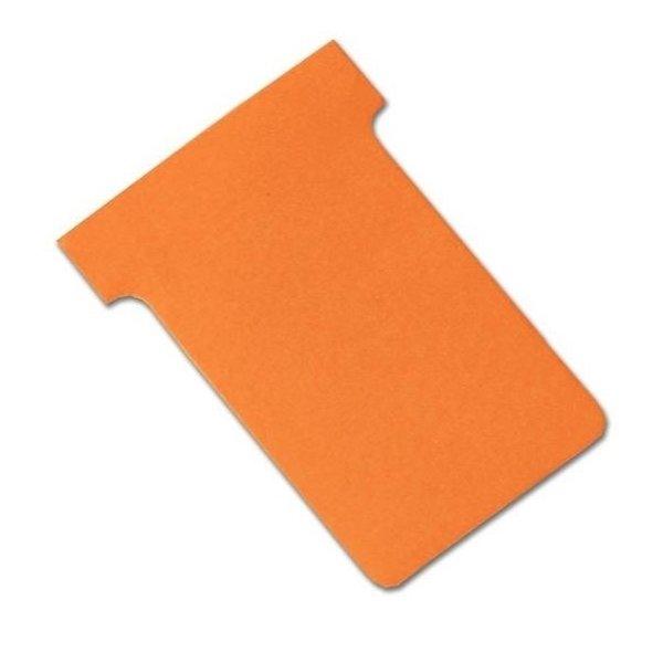 Kort til vægplanner 100 stk, orange, str. 3