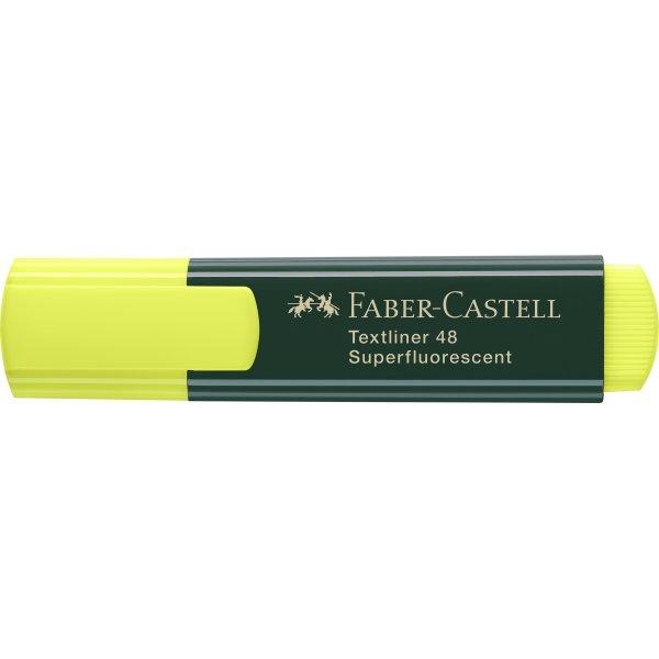 Faber-Castell overstregningspenne, gul
