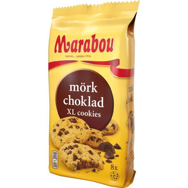 Marabou Cookies Mørk Chokolade, 184g