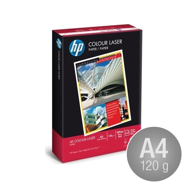 HP ColourLaser Papir A4,120g, 250 ark