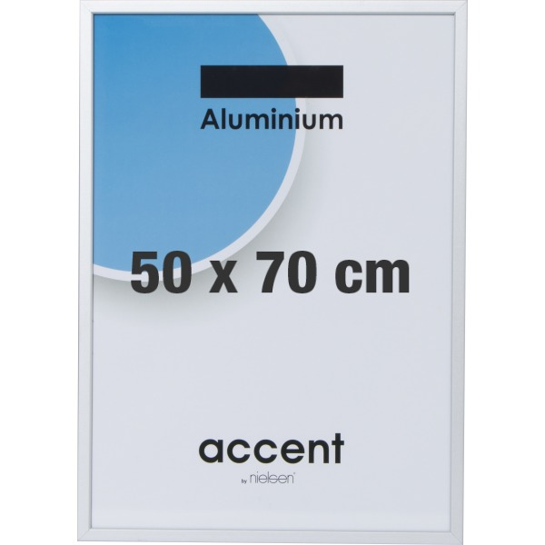 ae1cd9c6819 Accent Skifteramme 50 x 70 cm, sølv - Lomax A/S