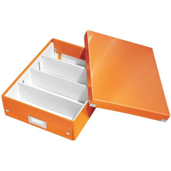 Leitz Click & Store Organizer boks medium, orange