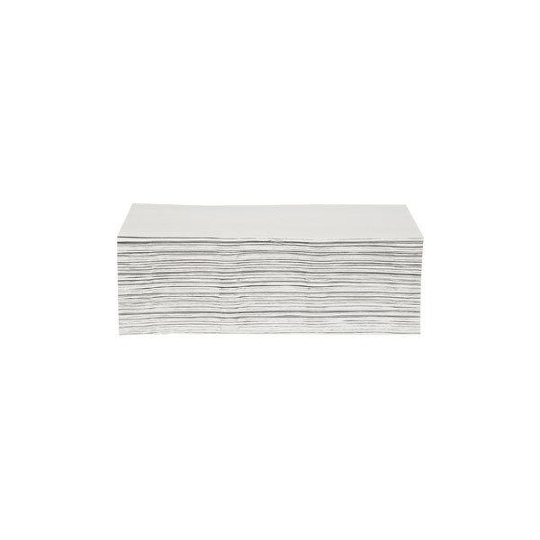 Håndklædeark 2-lag, c-foldet, hvid