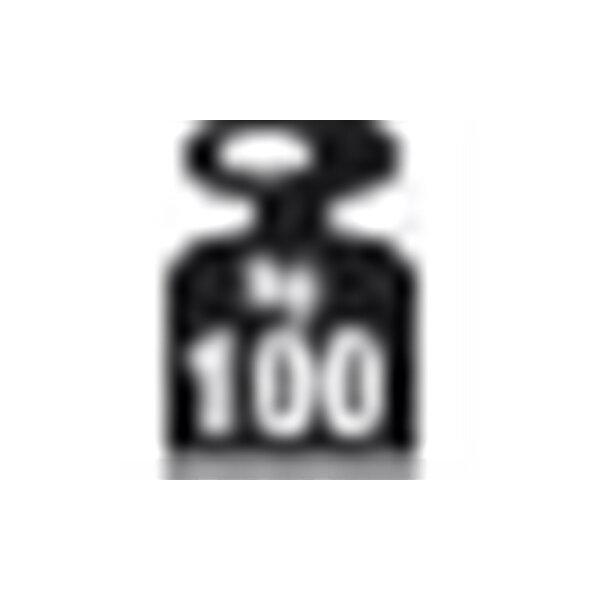 META Clip 100 kg, 100x50, 1 x hylde, Galvanis