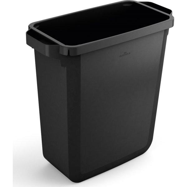Affaldsspand 60 l, 555x285x615 mm, Sort