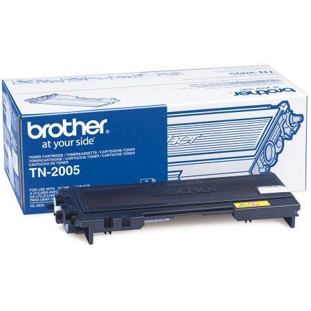 Brother TN2005 lasertoner, sort, 1500s