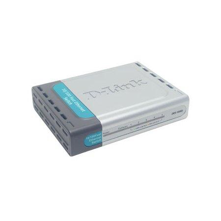 D-Link DES-1005D Switch, 5 Ports 10/100