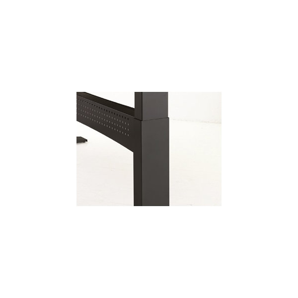 Easy stand 180 hæve/sænkebord højre, bøg/sort