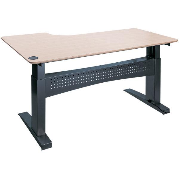 Easy stand 200 hæve/sænkebord højre, ahorn/sort