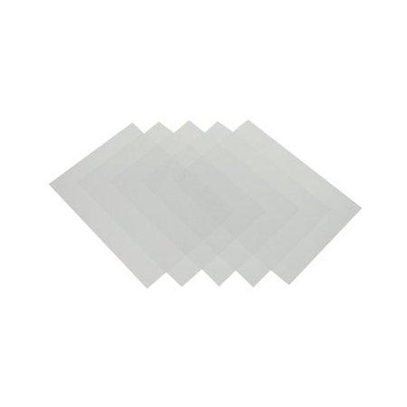For- og bagside plastic frosted, A4, 280 my