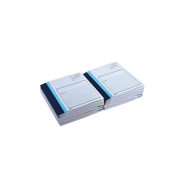 Følgeseddel 2 x 50 blade, 10,8 x 15,0cm