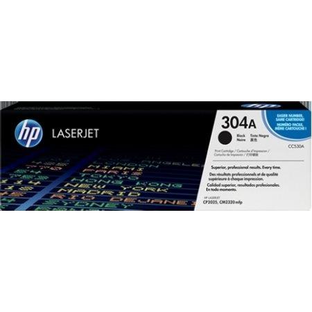 HP 304A/CC530A lasertoner, sort, 3500s