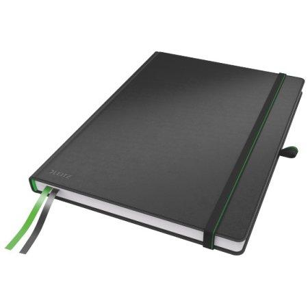 Leitz Complete notesbog A4, kvadreret, sort