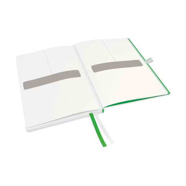Leitz Complete notesbog A5, linjeret, hvid