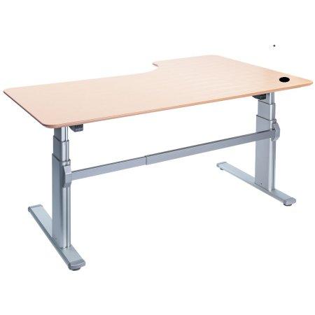 Fly hævesænkebord 200 cm venstre bøg 72-118 cm