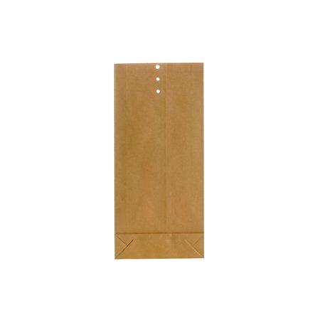 Bong Prøvepose 325 x 150 x 40mm, brun