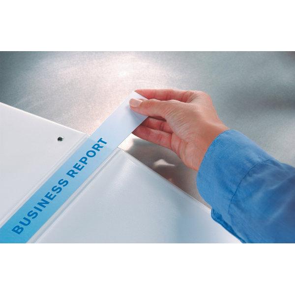 Esselte Indstiksringbind A4, 4 DR, 44 mm, hvid