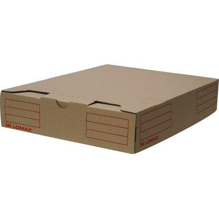 Lomax arkivboks A4, brun