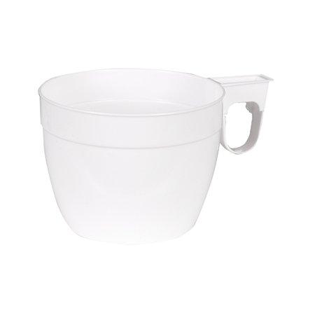 Storslåede Kaffekop med hank 15 cl, hvid - Lomax A/S HK53