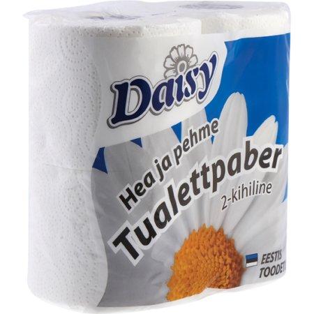 Daisy Luksus Soft toiletpapir, sæk á 80 ruller