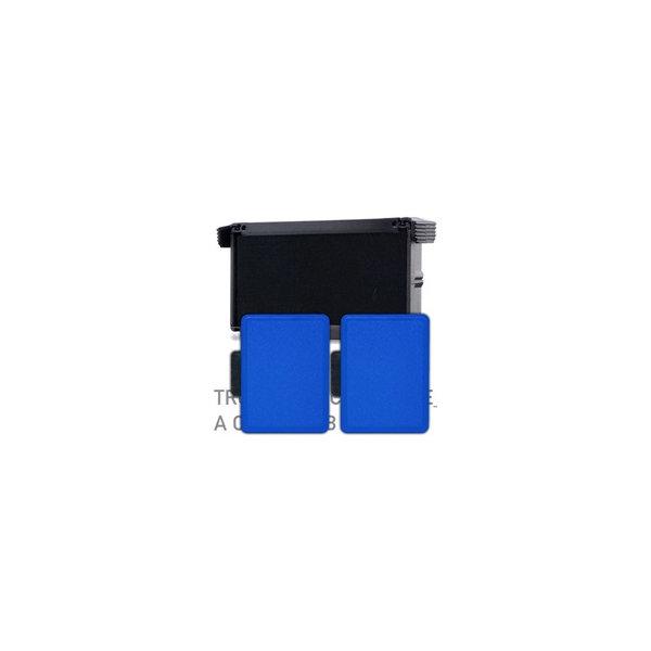 Trodat stempelpude 6/50, 2stk, blå