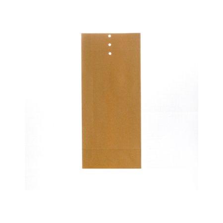 Bong Prøvepose 120 x 275 x 40mm, brun