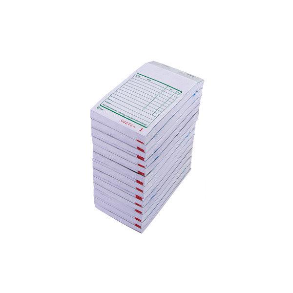 Kasseblok 2 x 50 blade, 8,5 x14,5cm