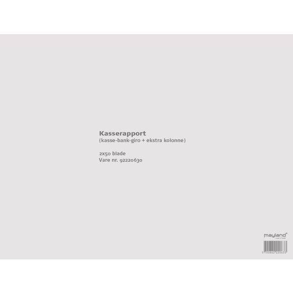 Kasserapport nr.2404, 297 x 210mm