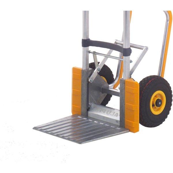 Ravendo sækkevogn Pro 2500, alu, 250 kg