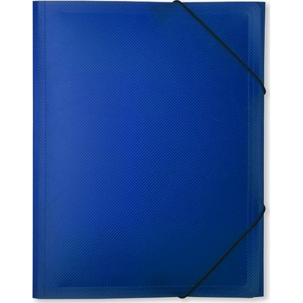 DocuSmart elastikmappe A4, PP, marineblå