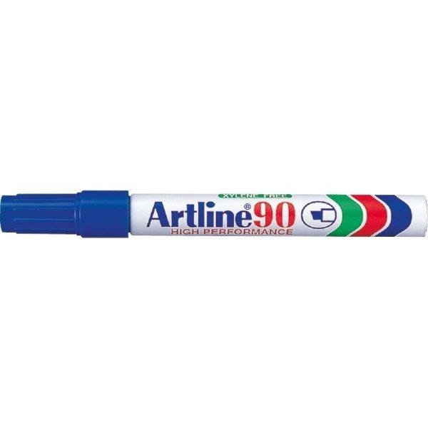 Artline marker 90, 2-5 mm, blå