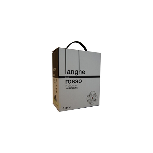 Langhe Rosso Doc Piemonte, Bag-in-Box, rødvin
