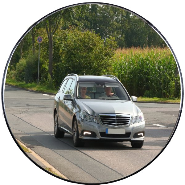 Trafikspejl akryl, rundt ø60 cm