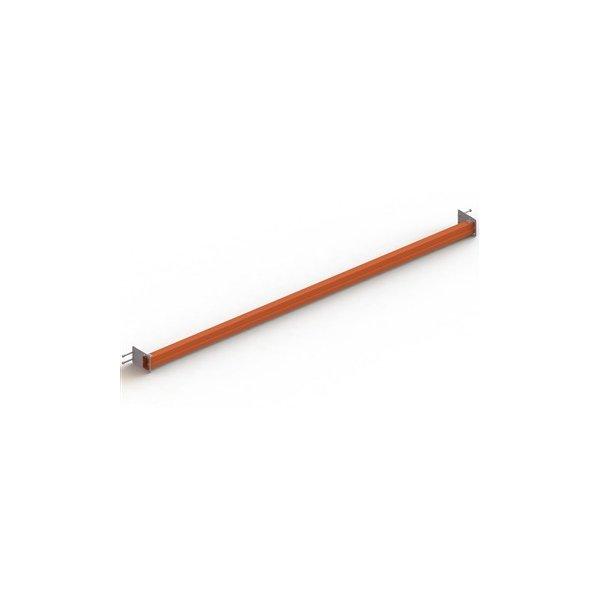 META pallebagstop tung 50 mm,l.330,SR 85,Pulverlak