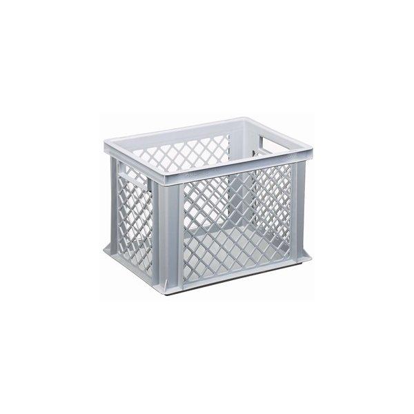 Lagerkasse perforeret 25 liter,(LxBxH) 40x30x27 cm