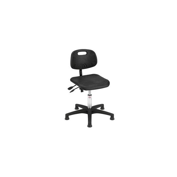 Global Simple arbejdsstol,  sort, 37-50 cm