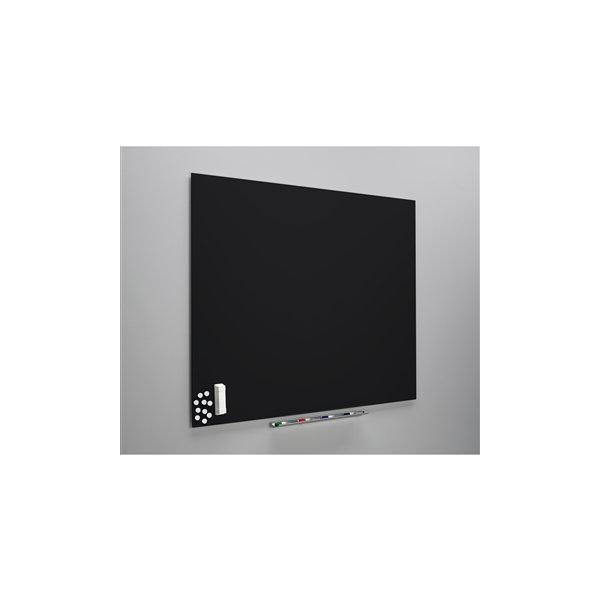 Vanerum Diamant whiteboard 90x118, sort