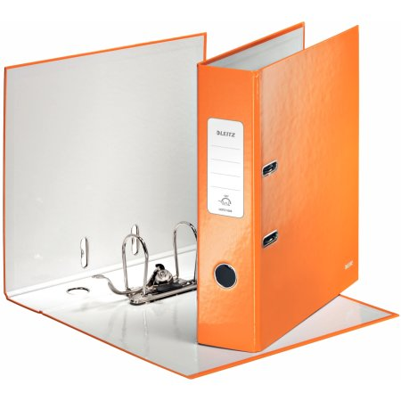 Leitz 180 WOW brevordner A4, 80mm, orange