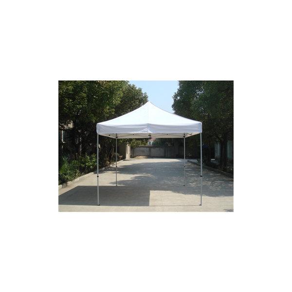 EASY UP Pavillon 3x3 m i off-white inkl. sider