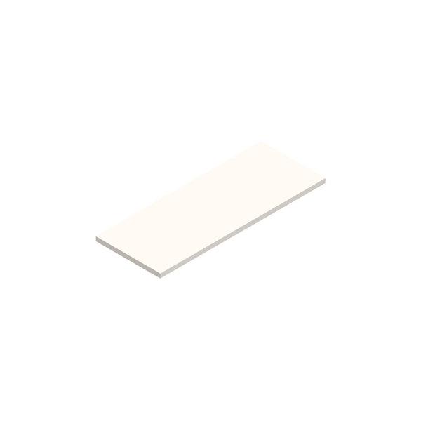 Jive ekstra hylde hvid dekor laminat Dybde 42 cm