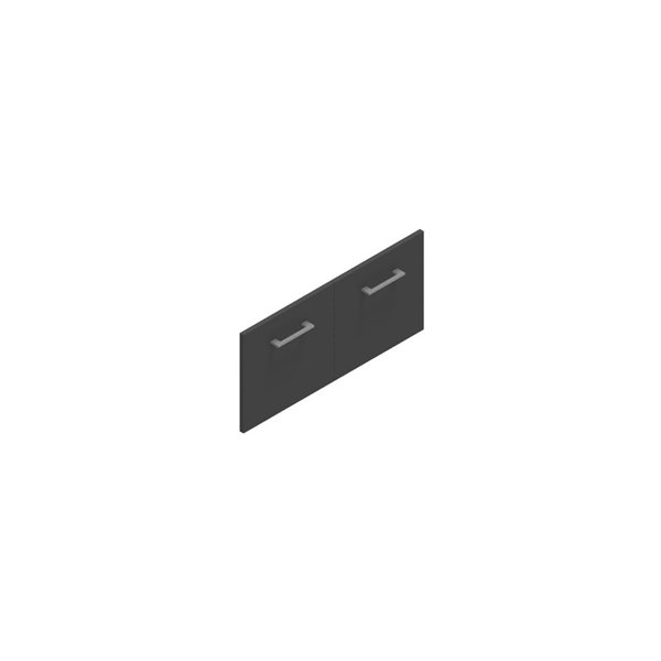 Jive lågesæt t/1 rum m/lås antracit dekor laminat