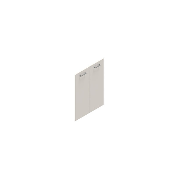 Jive lågesæt t/3 rum m/lås hvid dekor laminat