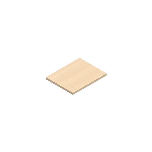Jive+ ekstra hylde birk finer Dybde 35 cm
