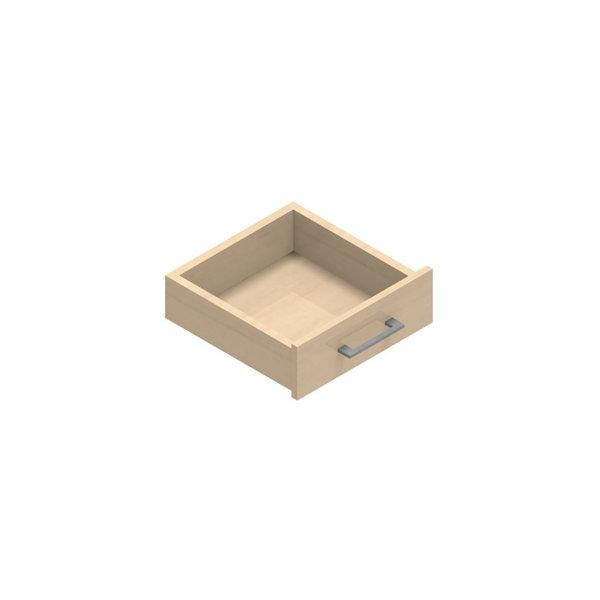 Jive+ enkelskuffe m/lås birk finer dybde 42 cm