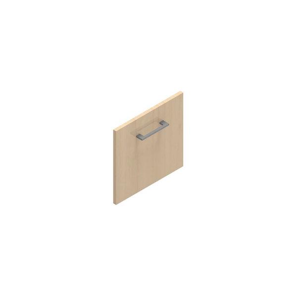 Jive+ låge t/1 rum i højden m/lås birk finer