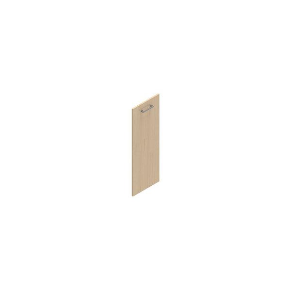 Jive+ låge t/3 rum i højden u/lås birk finer
